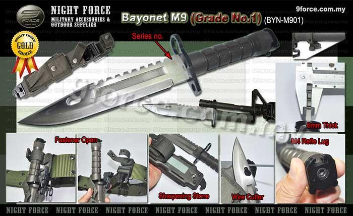 M9 Bayonet – M4 Refle Bayonet | Night Force Military